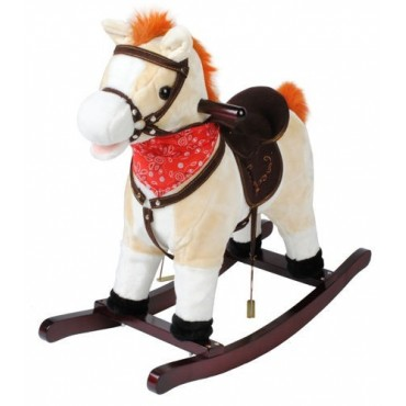 Koń na biegunach 74cm/K4592...