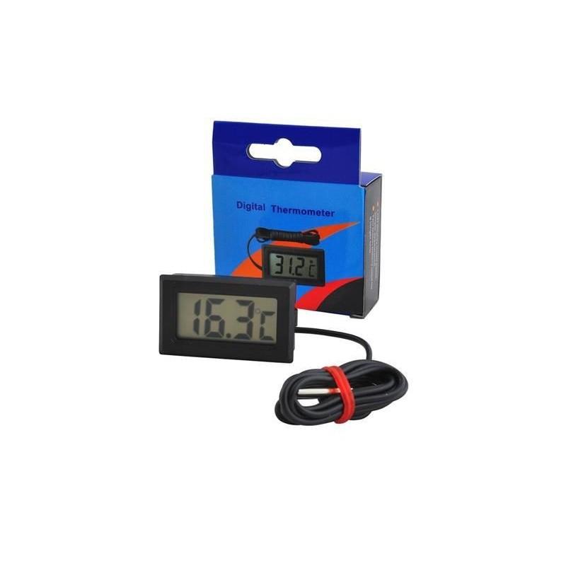 Termometr LCD do lodówki z sondą