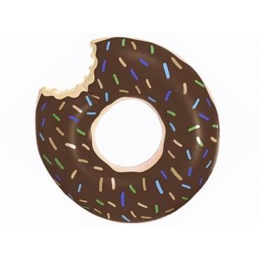 Koło dmuchane - donut brązowy