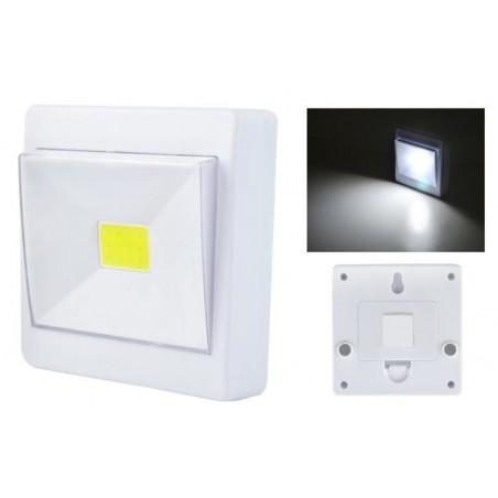 Lampka LED na baterie - włącznik