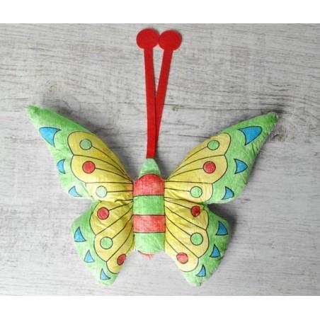 Maskotka do malowania - motylek