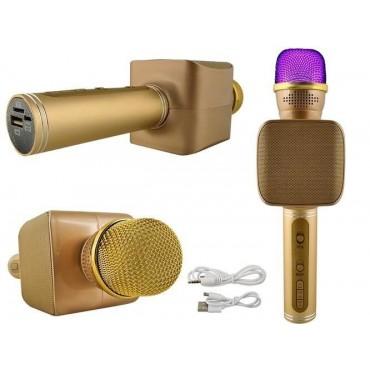 Mikrofon bezprzewodowy złoty