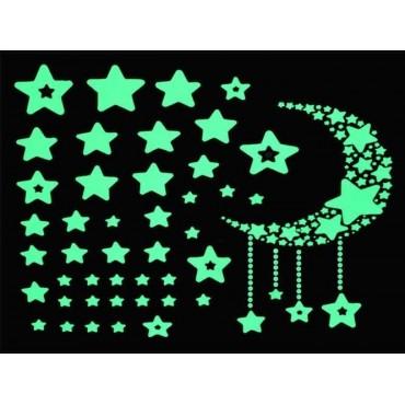 Naklejki ścienne - gwiazdy...