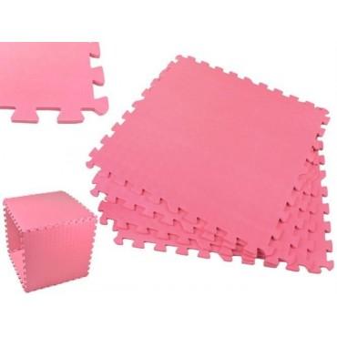 Puzzle piankowe 60x60cm 4el. - różowe