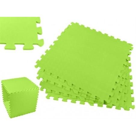 Puzzle piankowe 60x60cm 4el. - zielone
