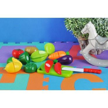 Zestaw zabawek - warzywa i...