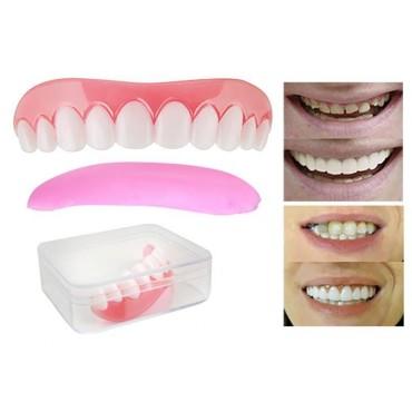 Sztuczne zęby - nakładki na...