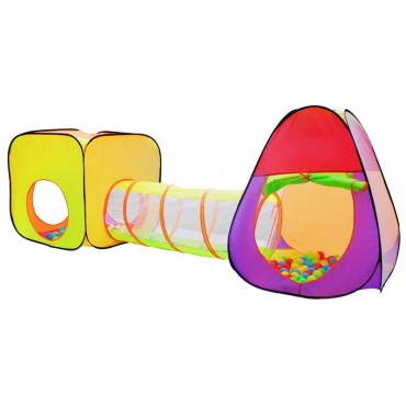 Namiot domek z tunelem dla dzieci