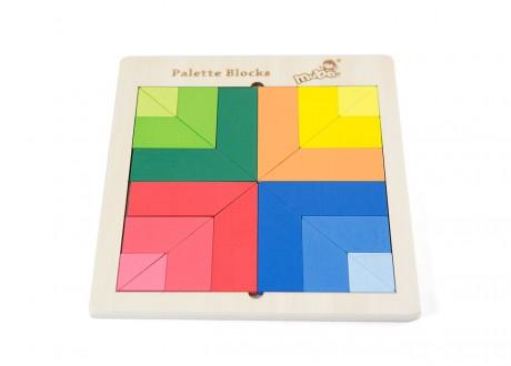 Paleta klocków układanka Montessori