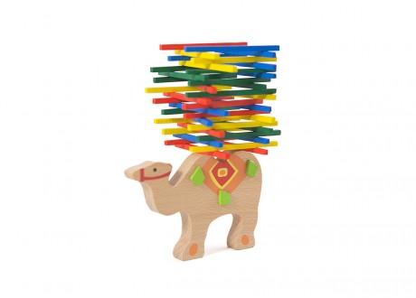 Patyczki drewniane wielbłąd relaks zręcznościowe