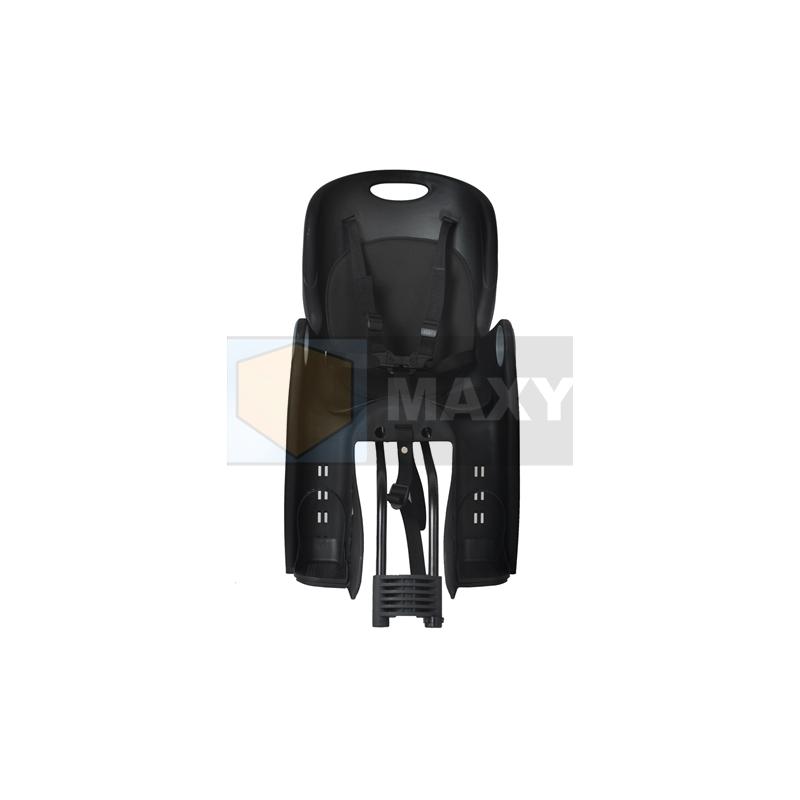 Fotelik rowerowy czarny