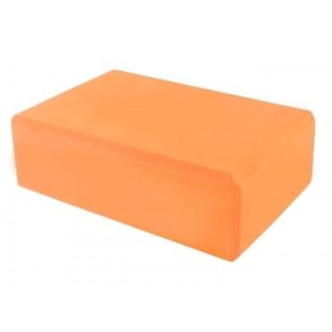 Kostka do yogi - pomarańczowa