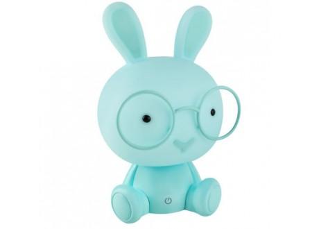 Lampka nocna - królik niebieski