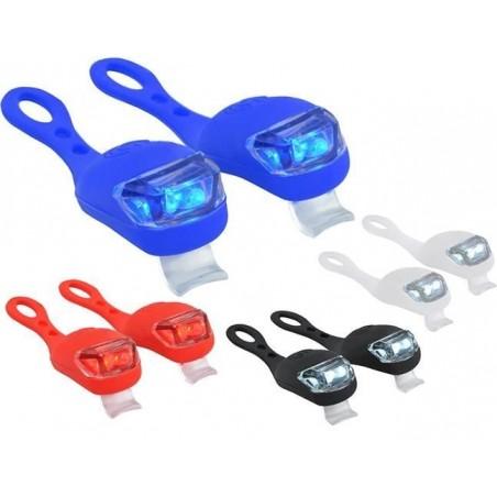 Lampki rowerowe silikonowe - 2szt.
