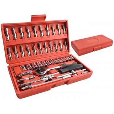 Zestaw narzędzi 46 elementów