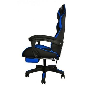Fotel gamingowy - czarno -...