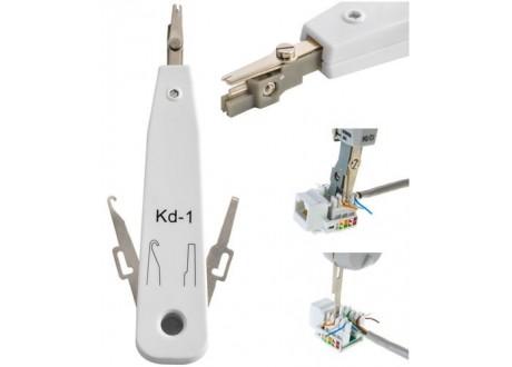Ściskacz/nóż do kabli sieciowych