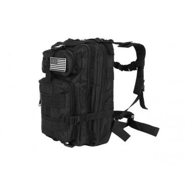 Plecak militarny czarny mały