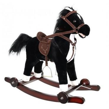 Koń na biegunach z kółkami...