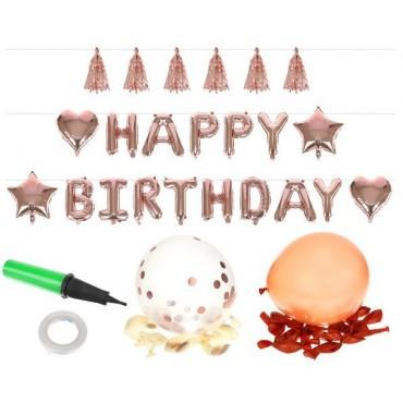 Akcesoria urodzinowe - zestaw