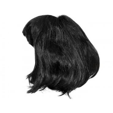 Peruka krótka czarna P7064