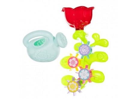 Kwiatek - zabawka do kąpieli  + konewka