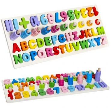 Układanka drewniana alfabet...