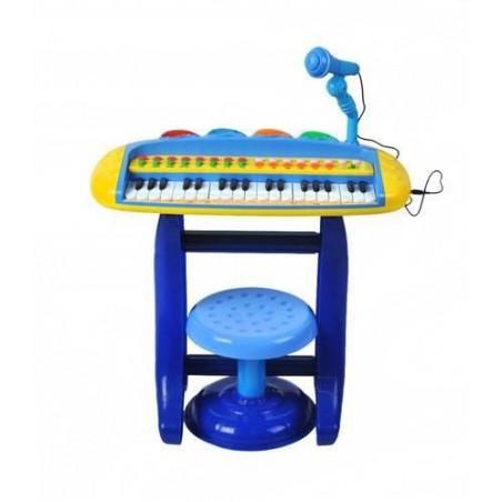 Organy dla dzieci z mikrofonem i tabor. basic NIEB