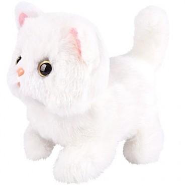 Kotek interaktywny biały