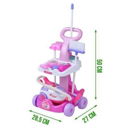 Wózek do sprzątania zabawkowy W4696