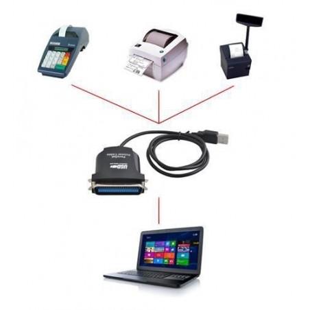 Adapter USB na LPT męski
