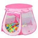 Namiot dla dzieci basic - różowy