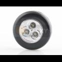 Lampka samoprzylepna 3 LED czarna