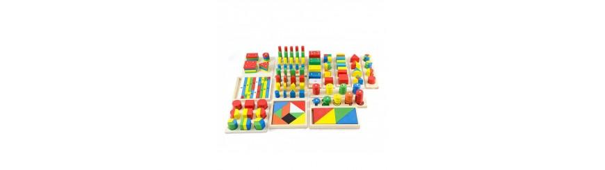 Zabawki drewniane i edukacyjne