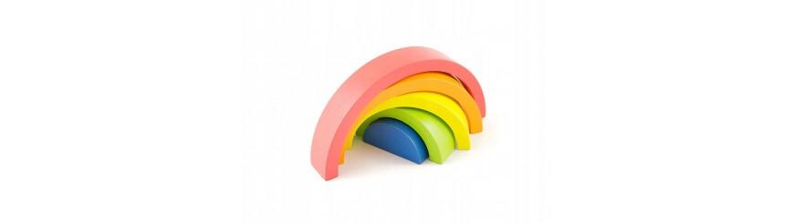 Zabawki sensoryczne wspierające rozwój metodą Marii Montessori